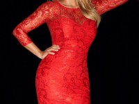 lipsy-kardashian-red-lace-dress