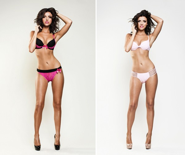 Lucy Mecklenburgh is the new face and body of By Caprice!