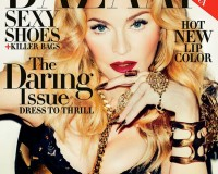 Madonna is daring for Harper's Bazaar US November