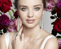 Miranda Kerr is the new face of Swarovski's AW13 campaign