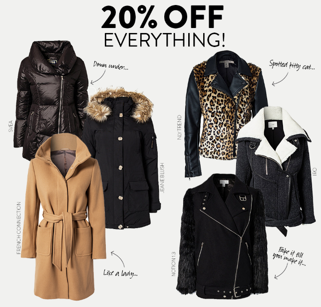 Get 20% off everything at Nelly.com!