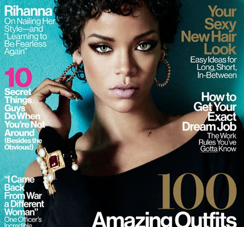 Rihanna wears Dior for Glamour US November, reveals who her ultimate style icon is
