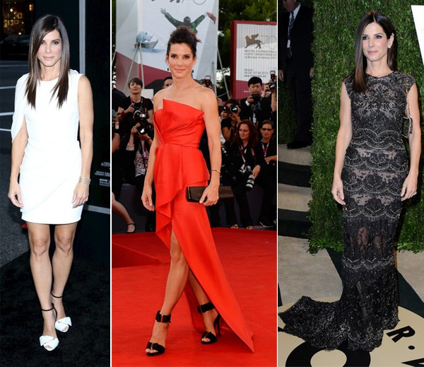 Sandra Bullock, we love your style!
