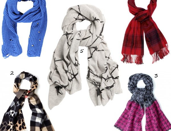5 seriously sumptuous scarves for the new season