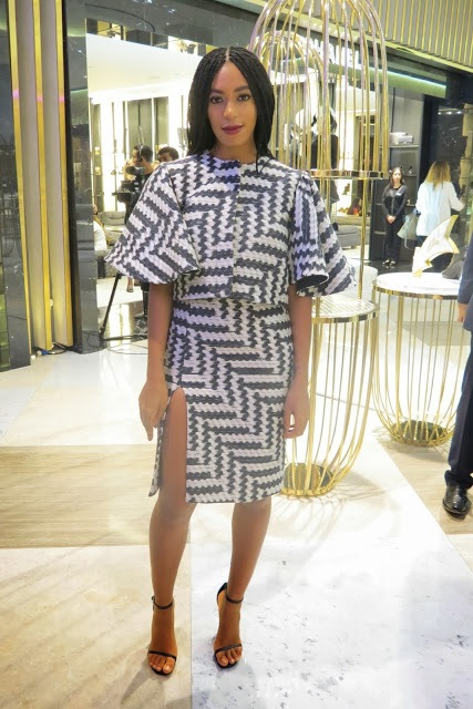 Solange Knowles debuts new look in Dubai