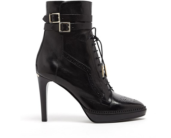Lunchtime Buy: Burberry Manners lace-up heeled ankle boots