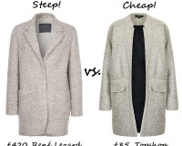 Steep vs. Cheap: Perfect winter coat