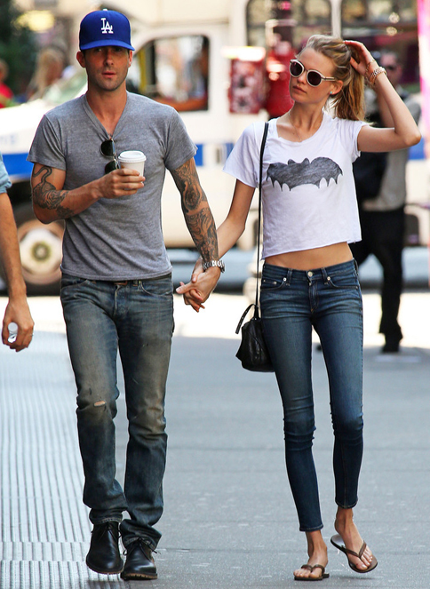 Adam Levine and Victoria's Secret's Behati Prinsloo to work on fashion line