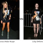 Anna Dello Russo vs. Lily Collins…Who wore Givenchy better?