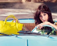 Alexa Chung is the new face of Longchamp!