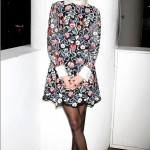 Alexa Chung rocks floral Valentino in the Big Apple