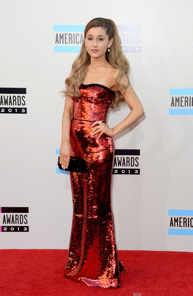 american music awards 2013 ariana grande