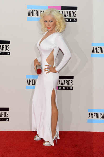 american music awards 2013 christina aguilera