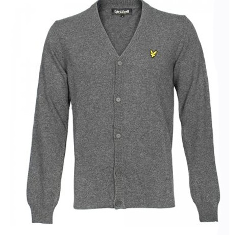 Treat him to… a Lyle and Scott Button Through cardigan
