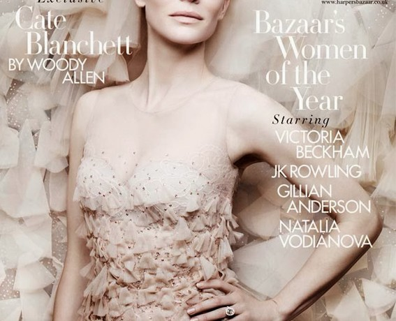 Cate Blanchett talks to Woody Allen in Harper's Bazaar UK December