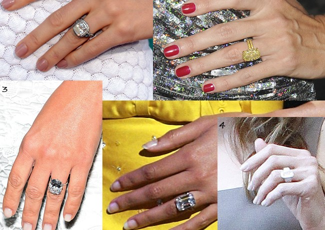 Our Top 5 celeb dazzling diamond engagement rings (and where to get your very own!)