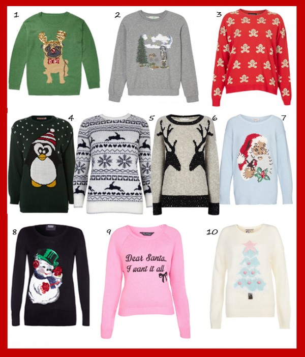 10 Christmas jumpers to get you into the festive spirit