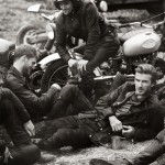David Beckham designs and poses for Belstaff