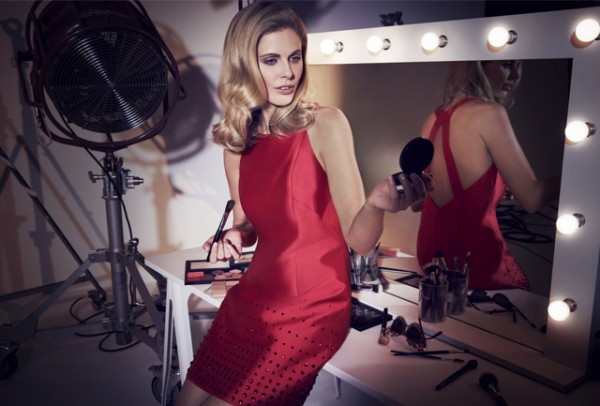 Donna Air poses pretty in Coast's partywear collection
