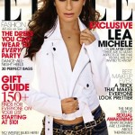 Lea Michele talks life after Cory in Elle US December issue
