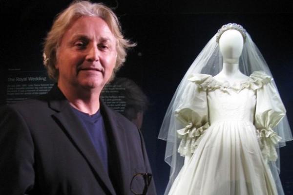 Princess Diana's wedding dress designer heading into Celebrity Jungle