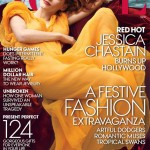 """I feel very awkward"" – Jessica Chastain, American Vogue December"