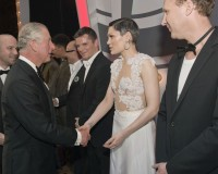 Was Jessie J dressed appropriately to meet Prince Charles?