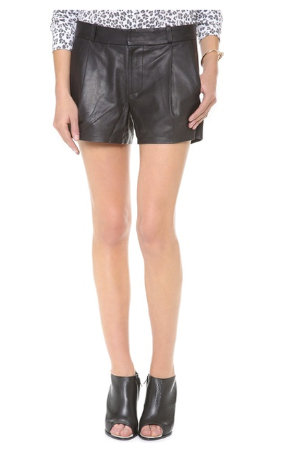 Lunchtime Buy: Joe's Jeans leather tulip trouser shorts