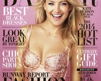 """I'm not a big high-end fashion shopper"" – Kate Hudson, Harper's Bazaar US December"