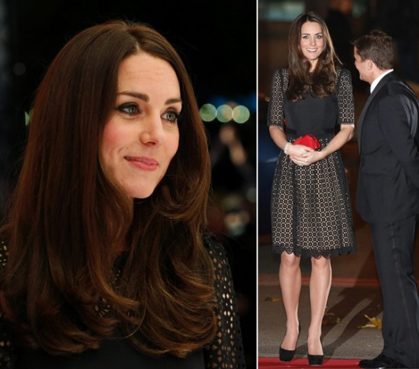 Kate Middleton debuts darker hair in Temperley London dress at SportsAid Ball