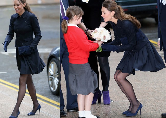 Kate Middleton's (almost) Marilyn moment in Orla Kiely