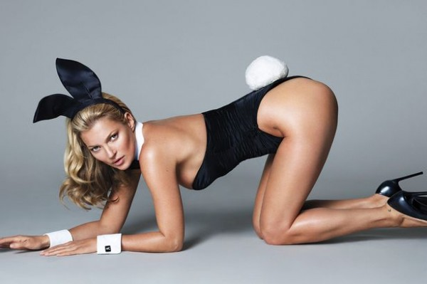 First look: Kate Moss for Playboy