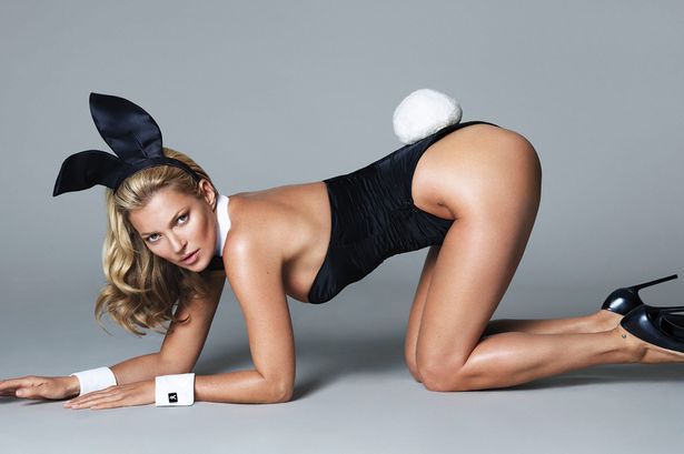 kate moss playboy shoot