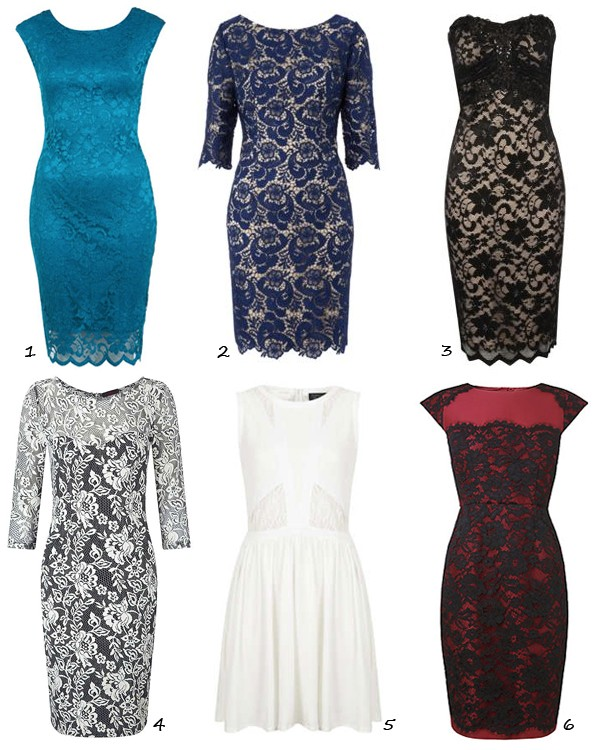Six lust-worthy lace dresses we love!