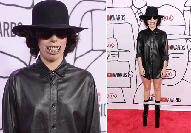 lady-gaga-youtube-awards-teeth-grill