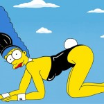 Marge Simpson recreates our favourite fashion icon moments