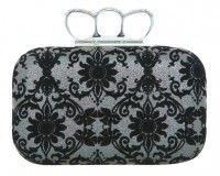 Gift of the Day: Miss Selfridge ring frame baroque clutch
