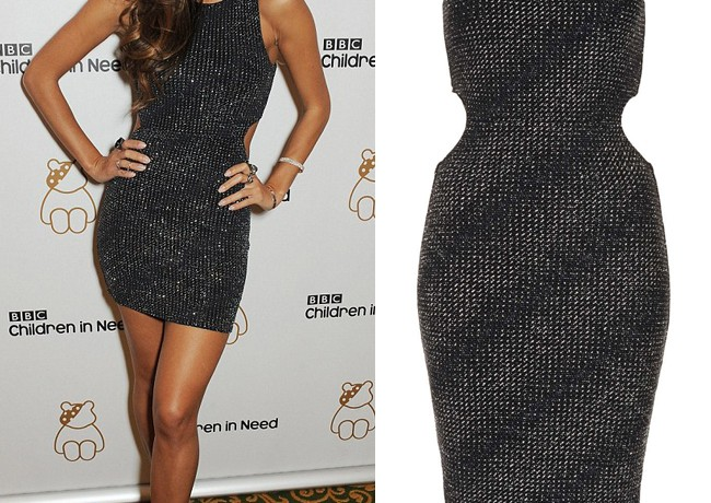 Get Nicole Scherzinger's cut-out Topshop look