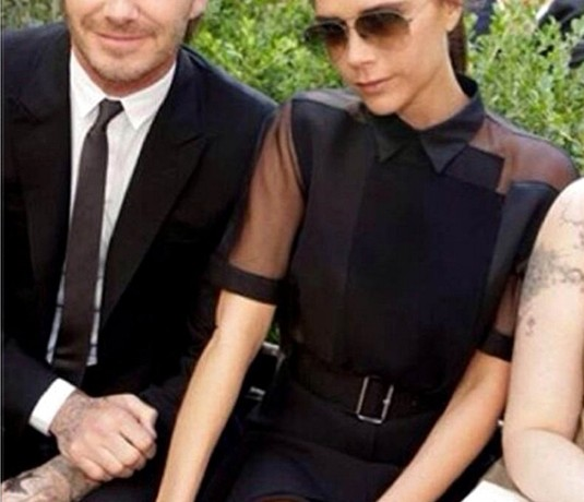 David and Victoria Beckham donate their clothes for Typhoon Haiyan
