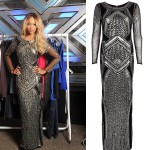 Get Tamera Foster's sequin X Factor look