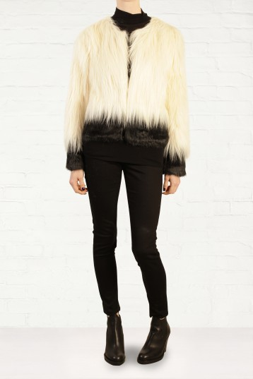 1. Unreal Fur Fire and Ice Faux Fur Jacket