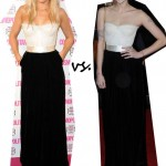 Ellie Goulding vs. Peaches Geldof…Who wore Dolce & Gabbana better?