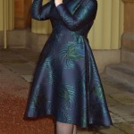 Adele wears Stella McCartney to accept her MBE