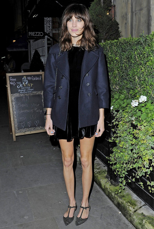 Alexa Chung's debut clothing line is launching next year!