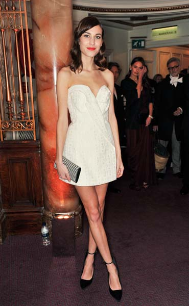 The 2013 British Fashion Awards: The best dressed!
