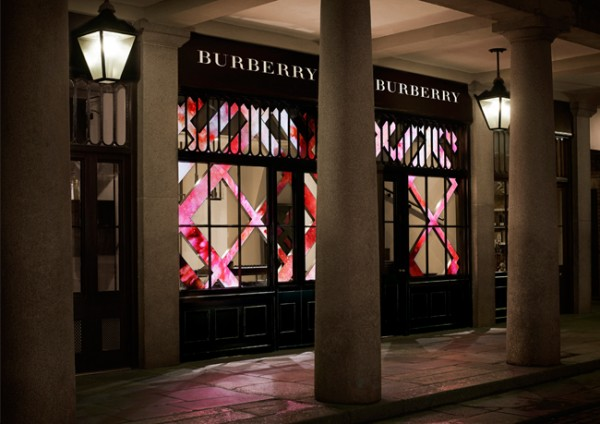 The Burberry Beauty Box opens in Covent Garden