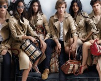 Burberry taps new talent for spring/summer 2014 ad campaign
