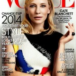 Cate Blanchett in Celine for American Vogue January 2014