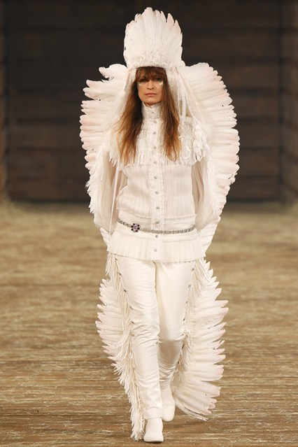 chanel dallas headdress