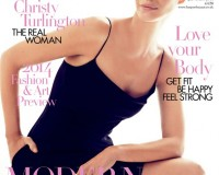 Christy Turlington shows everyone how it's done on Harper's Bazaar UK January cover